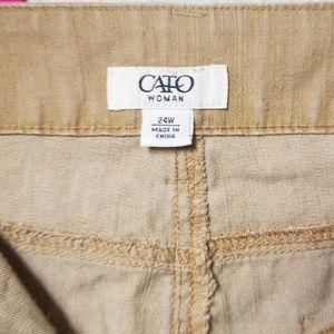 Cato Pants - Wide Leg Khaki Pants